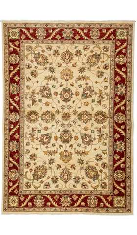 Decorative Oushak Turkish Rug