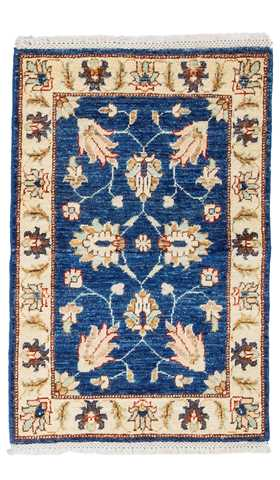 Blue Color Oushak Rug
