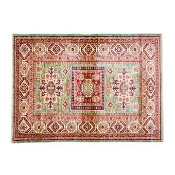 Caucasian Soft Green Color Rug-2919 detail 1