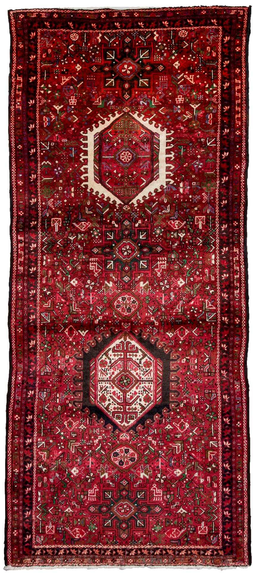 Vintage Rugs Persian Rugs Heriz Runner Rugs Carpet From Iran