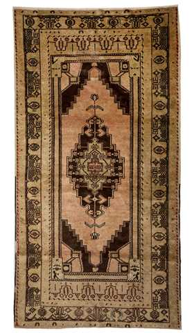 Vintage Soft Color Turkish Rug