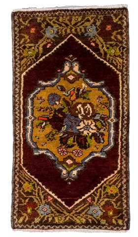 Small Size Turkish Konya Rug