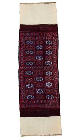 6329-Tribal Hand Embroidery Runner Rug - 1' 10'' x 6' 1'' (56 cm x 185 cm)