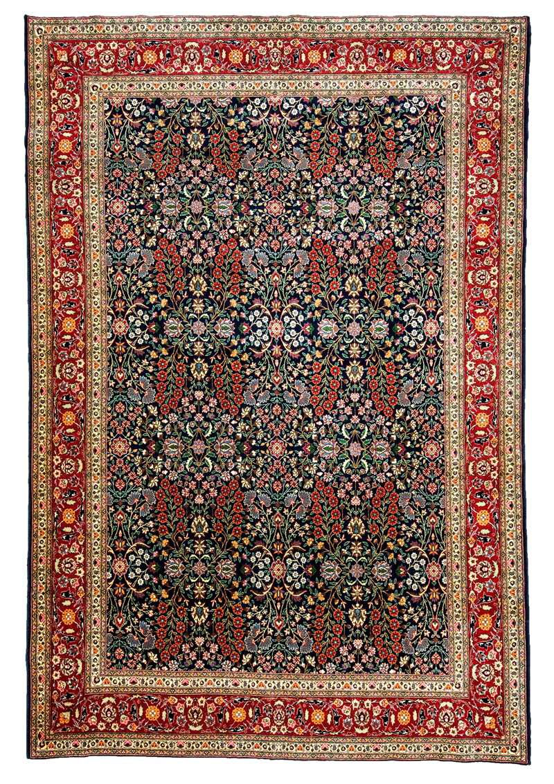 Turkish Hereke Rug-6424