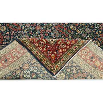 Turkish Hereke Rug-6424 detail 5