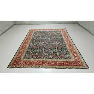 Turkish Hereke Rug-6424 detail 1