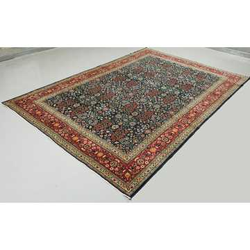 Turkish Hereke Rug-6424 detail 2