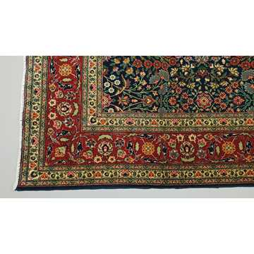 Turkish Hereke Rug-6424 detail 4