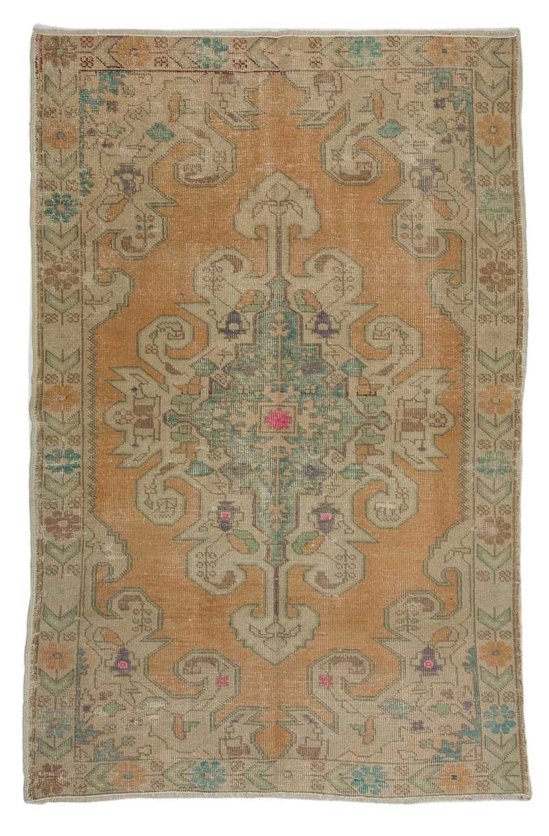 Vintage Turkish Rug-6879