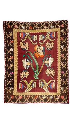 Vintage Kilim Rug Turkish Rug