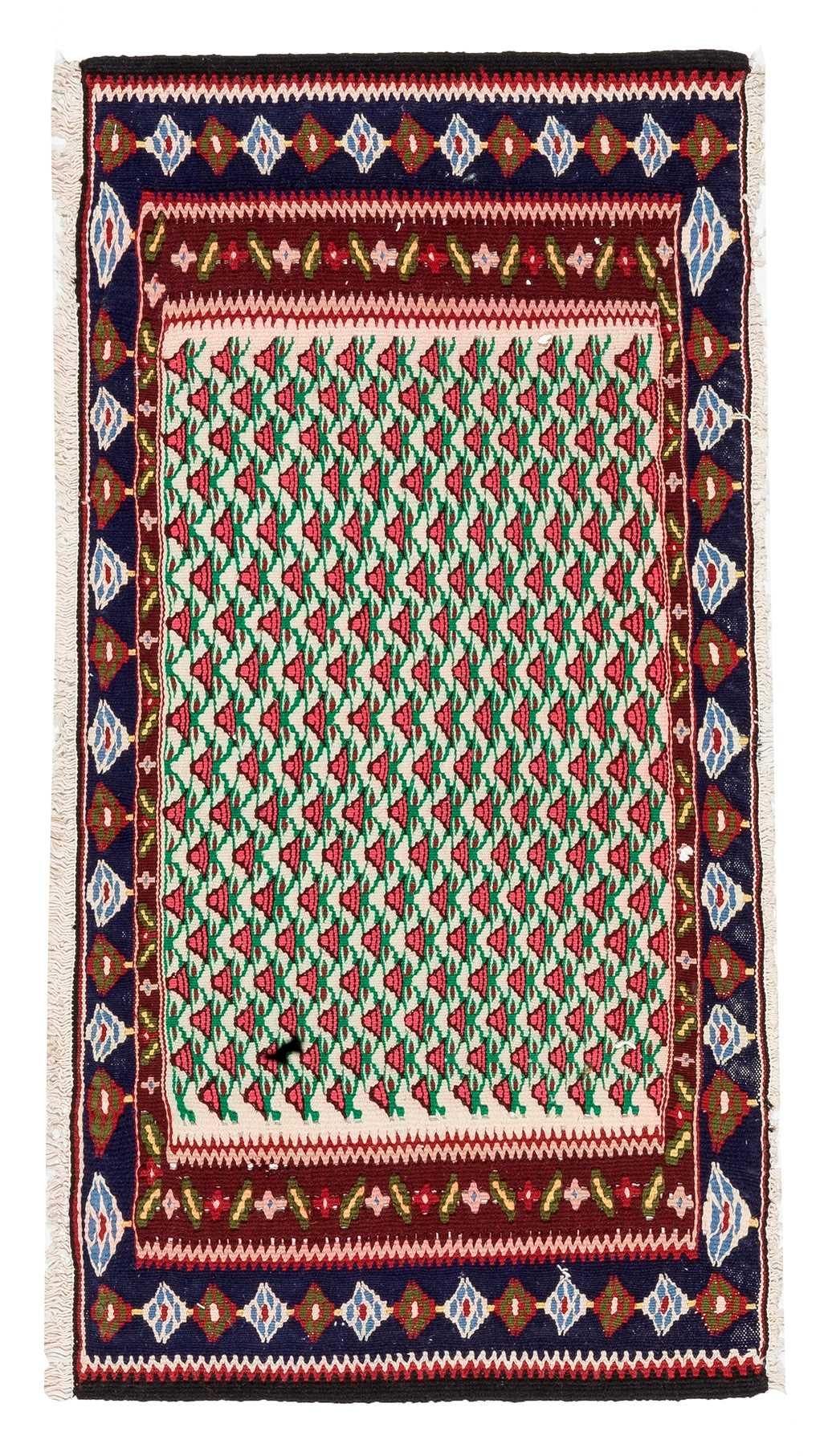 Vintage Small Turkish Kilim Rug 7648